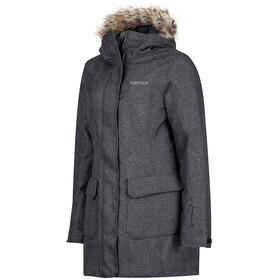 Marmot Georgina Featherless Jas Dames grijs/zwart